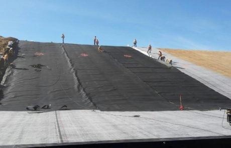 Landfill-Liner-Installation