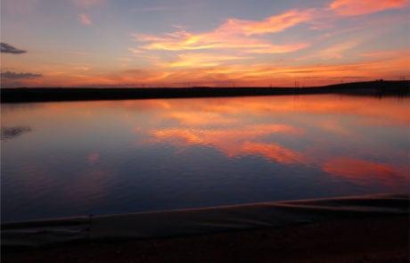 pond-liner-sunset