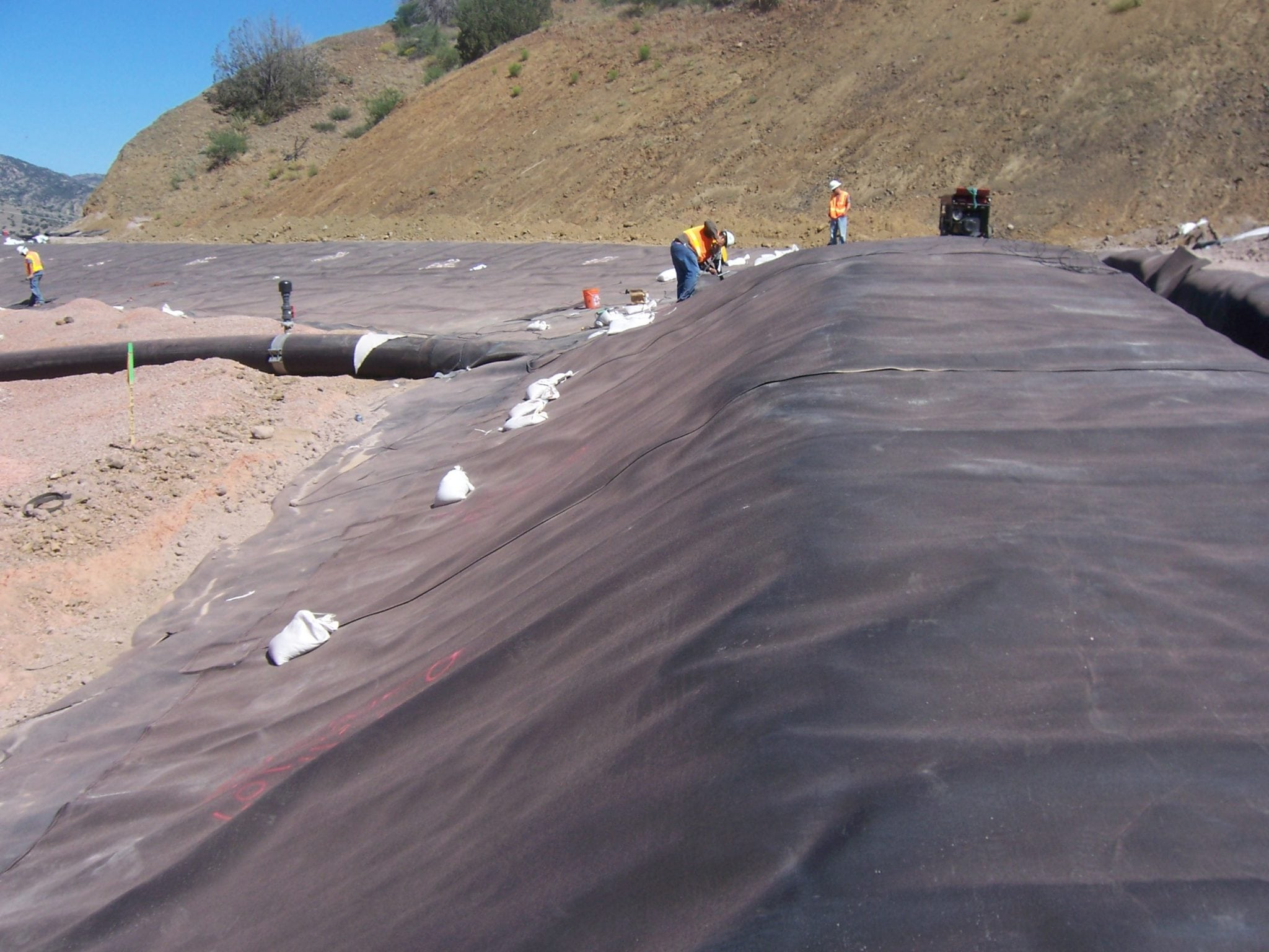 Berms Field Lining Systems Inc